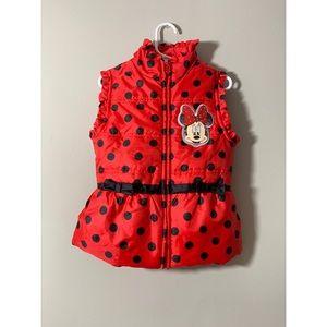 Little Girls Minnie Mouse Vest